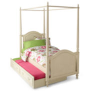 Paige Youth Canopy Bed with Trundle Option