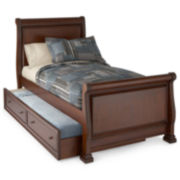 Jacob Youth Captains Sleigh Bed with Trundle Option