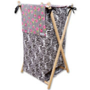 Trend Lab® Zahara Zebra Hamper