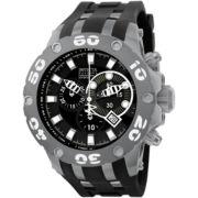 Invicta® Mens Black & Gray Watch
