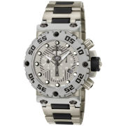 Invicta® Mens Gray & Black Watch
