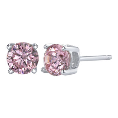 jcpenney.com | Diamonore™ 1 ct. t.w. Pink Simulated Diamond Studs