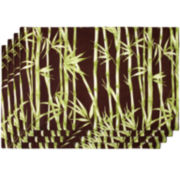 Bamboo Garden Set of 4 Placemats
