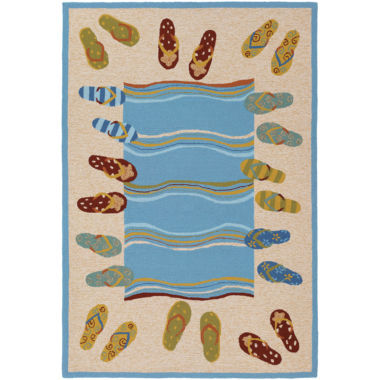 jcpenney.com | Couristan® Sandals Indoor/Outdoor Rectangular Rug
