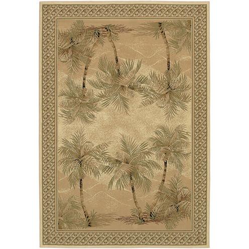 Couristan® Palm Trees Rectangular Rug