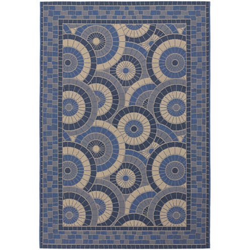 Couristan® Sundial Indoor/Outdoor Rectangular Rug