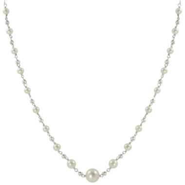 jcpenney.com | Cultured Freshwater Pearl & Sparkle Bead Necklace