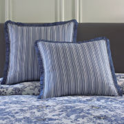 Toile Garden Pillow Sham or Euro Sham