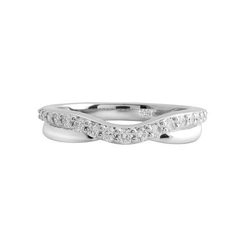 1/4 CT. T.W. Diamond Ring 10K White Gold