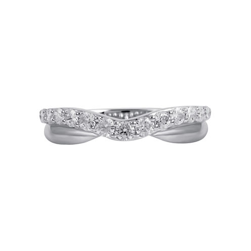 1/2 CT. T.W. Diamond Ring 10K White Gold