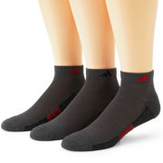 adidas® 3-pk. Superlite Low Cut Socks