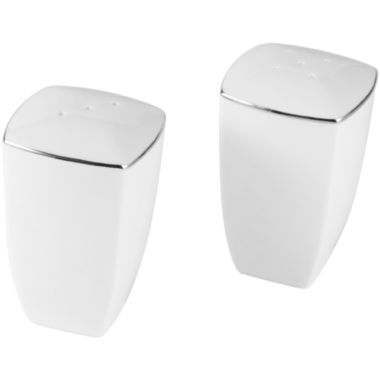 jcpenney.com | Mikasa® Couture Platinum Bone China Salt and Pepper Shakers