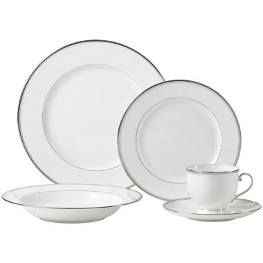 jcpenney.com | Mikasa Gothic Platinum Bone China Dinnerware Collection