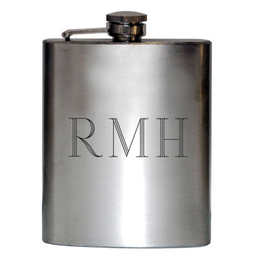 jcpenney.com | Satin Stainless Steel Engravable Flask