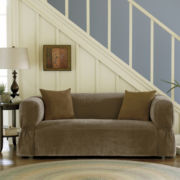 Maytex Smart Cover® Stretch Suede 1-pc. Sofa Slipcover