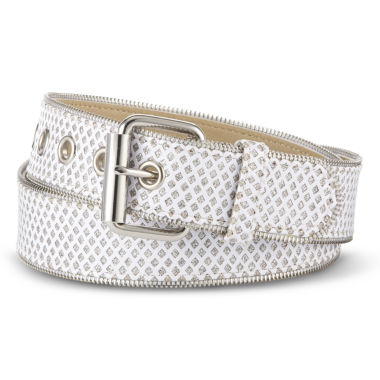 jcpenney.com | Relic® Glitter Zipper-Edge Belt