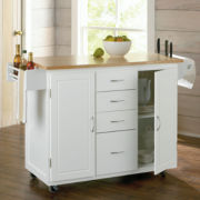 Hill Country Kitchen Cart