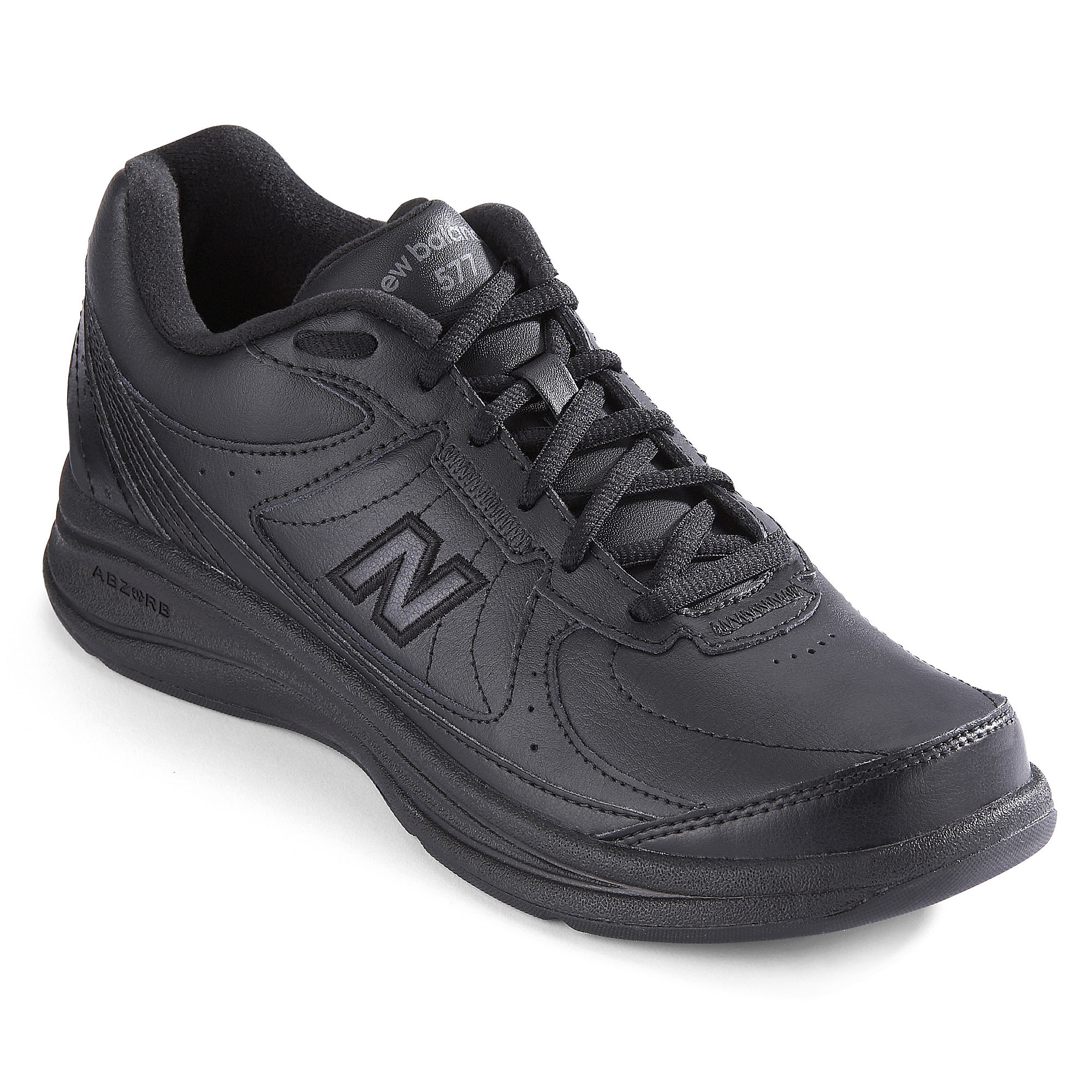 New Balance White Womens Walking Shoes