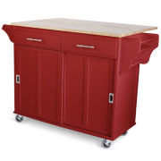 Sliding Door Kitchen Cart