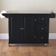 Sundance Kitchen Cart with Stainless Steel Top