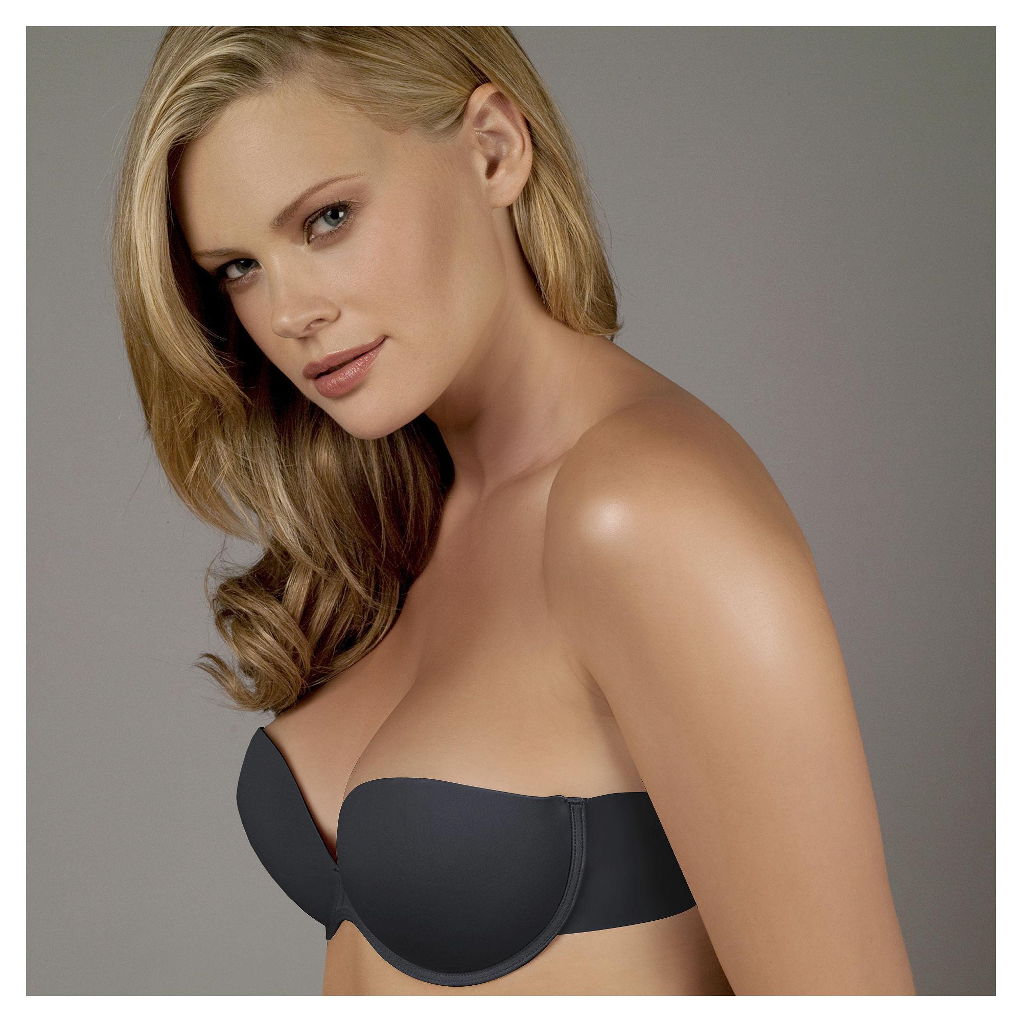 Ambrielle Go Bare Backless Strapless Bra plus size,  plus size fashion plus size appare