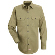 Red Kap® Deluxe Heavyweight Cotton Shirt – Big & Tall