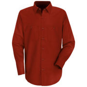 Red Kap® Industrial Solid Work Shirt-Big & Tall