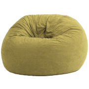 Beanbag Chair, 4' Large Suede Fuf