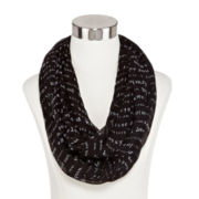 Hugs and Kisses Print Infinity Scarf