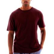 Stafford® Cotton Lightweight Color Crewneck T-Shirt - Big & Tall