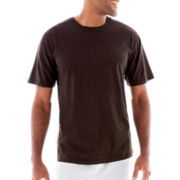 Stafford® Cotton Lightweight Color Crewneck T-Shirt–Big & Tall