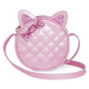 On the Verge Girls Quilted Cat-Ear Purse