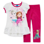 Disney Frozen 2-pc. Dress and Leggings Set – Girls 2t-4t