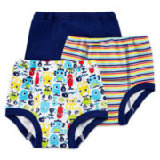Okie Dokie® 3-pk. Training Pants – Boys 2t-3t