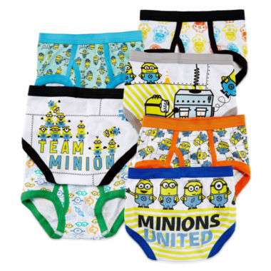 jcpenney.com | Minions 7-pk. Briefs - Toddler Boys 2t-4t