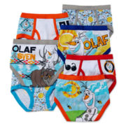Disney Frozen 7-pk. Briefs - Toddler Boys 2t-4t