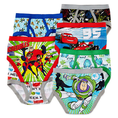 Pixar 7-pk. Briefs - Toddler Boys 2t-4t