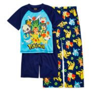 Pokémon 3-pc. Pajama Set - Boys 4-10
