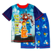 Lego Movie 2-pc. Pajama Short Set - Boys 4-12