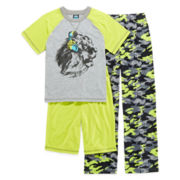 Jelli Fish Kids 3-pc. Lion Pajama Set - Boys 4-16