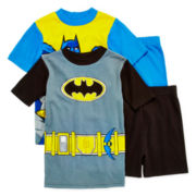 Batman 4-pc. Pajama Set - Boys 4-12