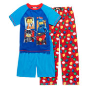 The Lego Movie 3-pc. Pajama Set – Boys 4-12