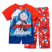 Thomas the Tank Engine 3-pc. Pajama Set – Boys 2t-4t