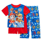 Paw Patrol 3-pc. Pajama Set – Boys 2t-4t