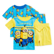 Despicable Me 4-pc. Minion Pajama Set - Boys 2t-4t