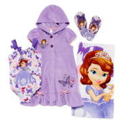 Disney Collection Princess Sofia Cover Up, Swimsuit, Flip Flops or Beach Towel