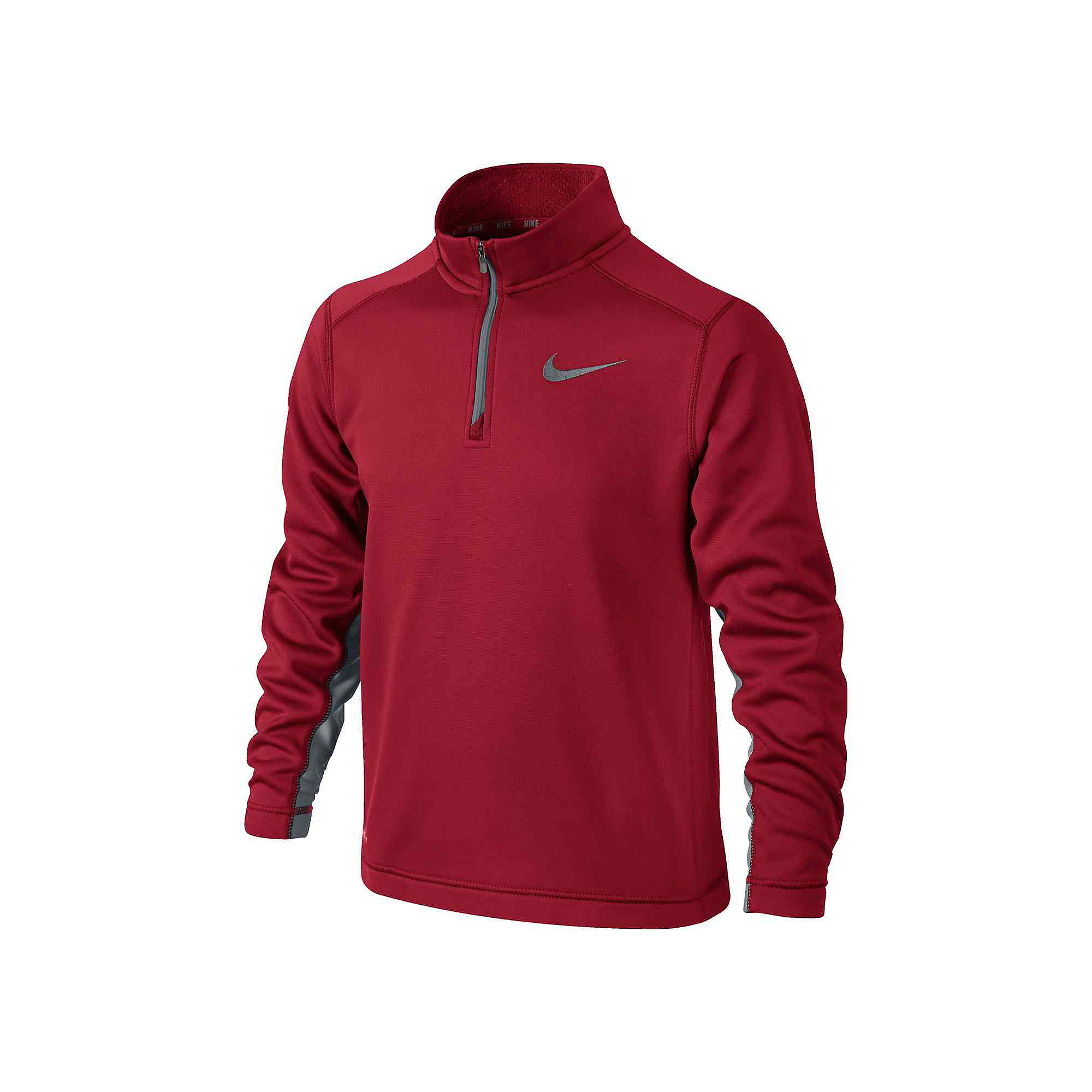 559d929f ... Nike Long-Sleeve 1/4-Zip Therma-FIT Jacket - Boys 8-20. UPC 887225429201