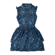Levi's® Sleeveless Denim Melody Dress - Girls