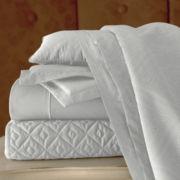 Royal Velvet® 400tc WrinkleGuard™ Quilted Coverlet