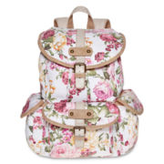 Olsenboye® Floral Glitter Backpack